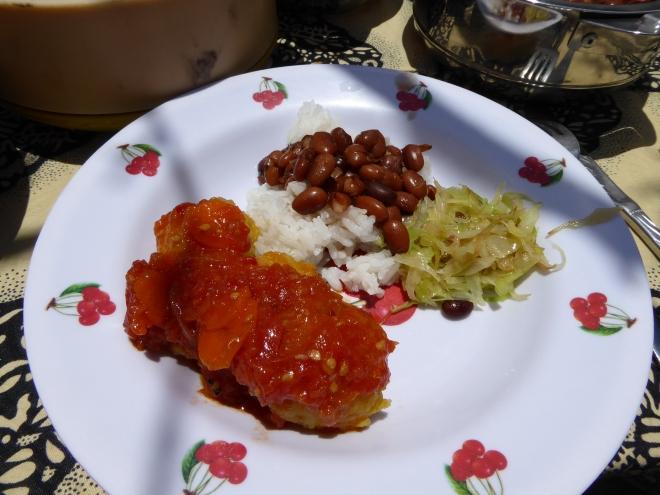 Typisch tansanisches Essen